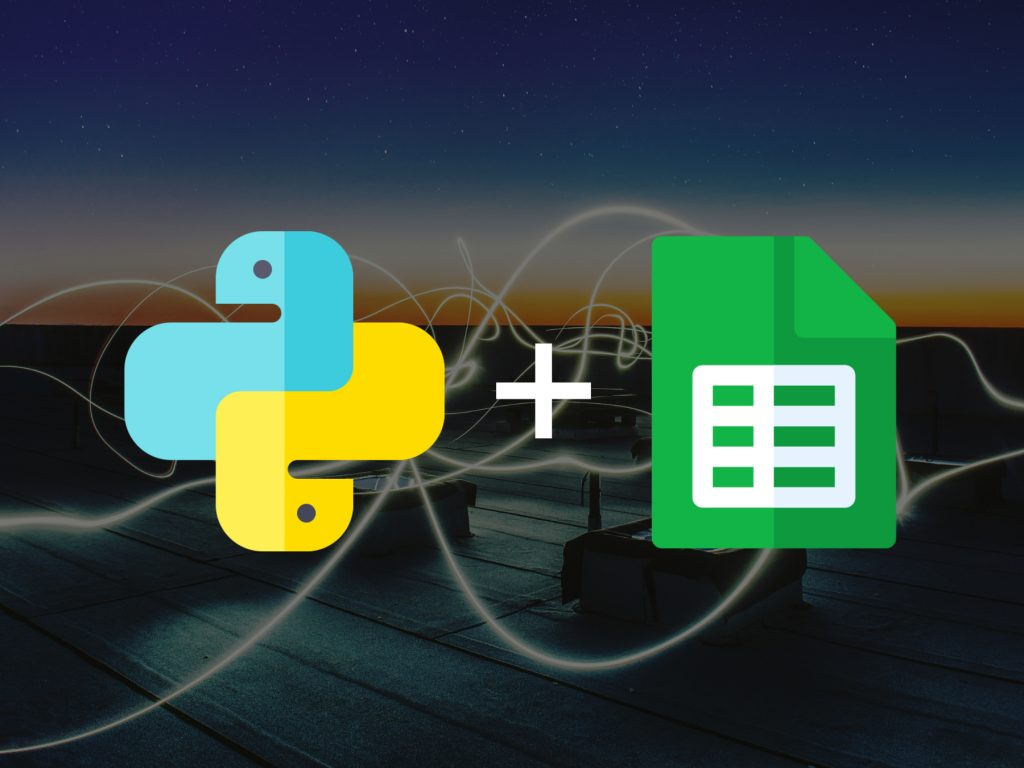 connect python with google sheets