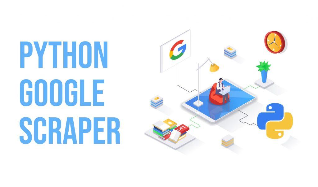 scrape google results in pyhton