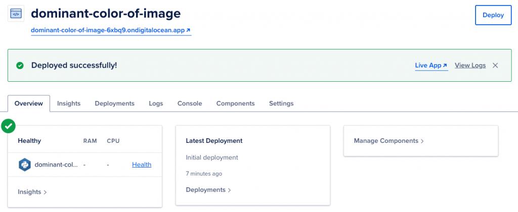 python flask API digital ocean deployment
