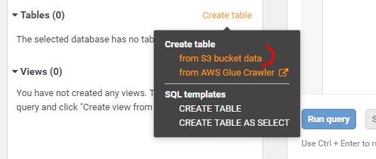 How to run SQL on S3 files with AWS Athena 6