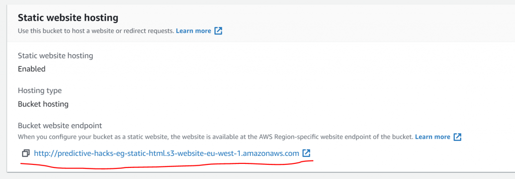 How to Share your Notebooks as static websites with AWS S3 5