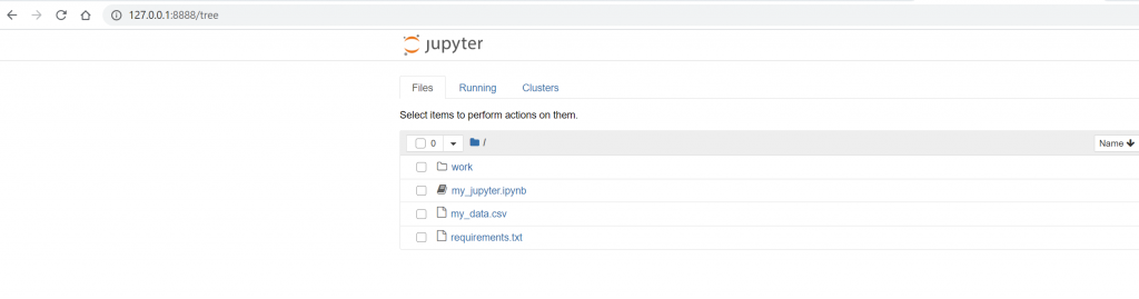 How to Share Jupyter Notebooks with Docker 5