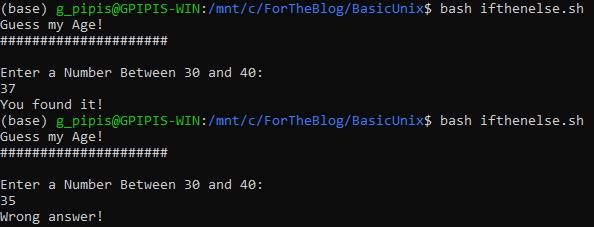 Tutorial: Control Flow in Bash Scripting 1