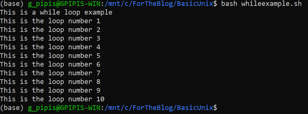 Tutorial: Control Flow in Bash Scripting 4