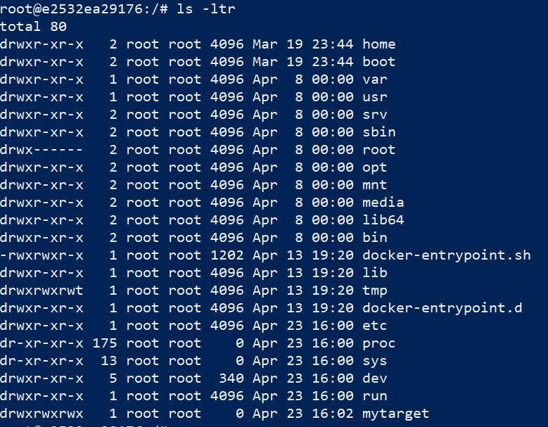 Docker Storage Tutorial 2