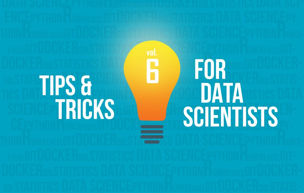 data science tips and tricks