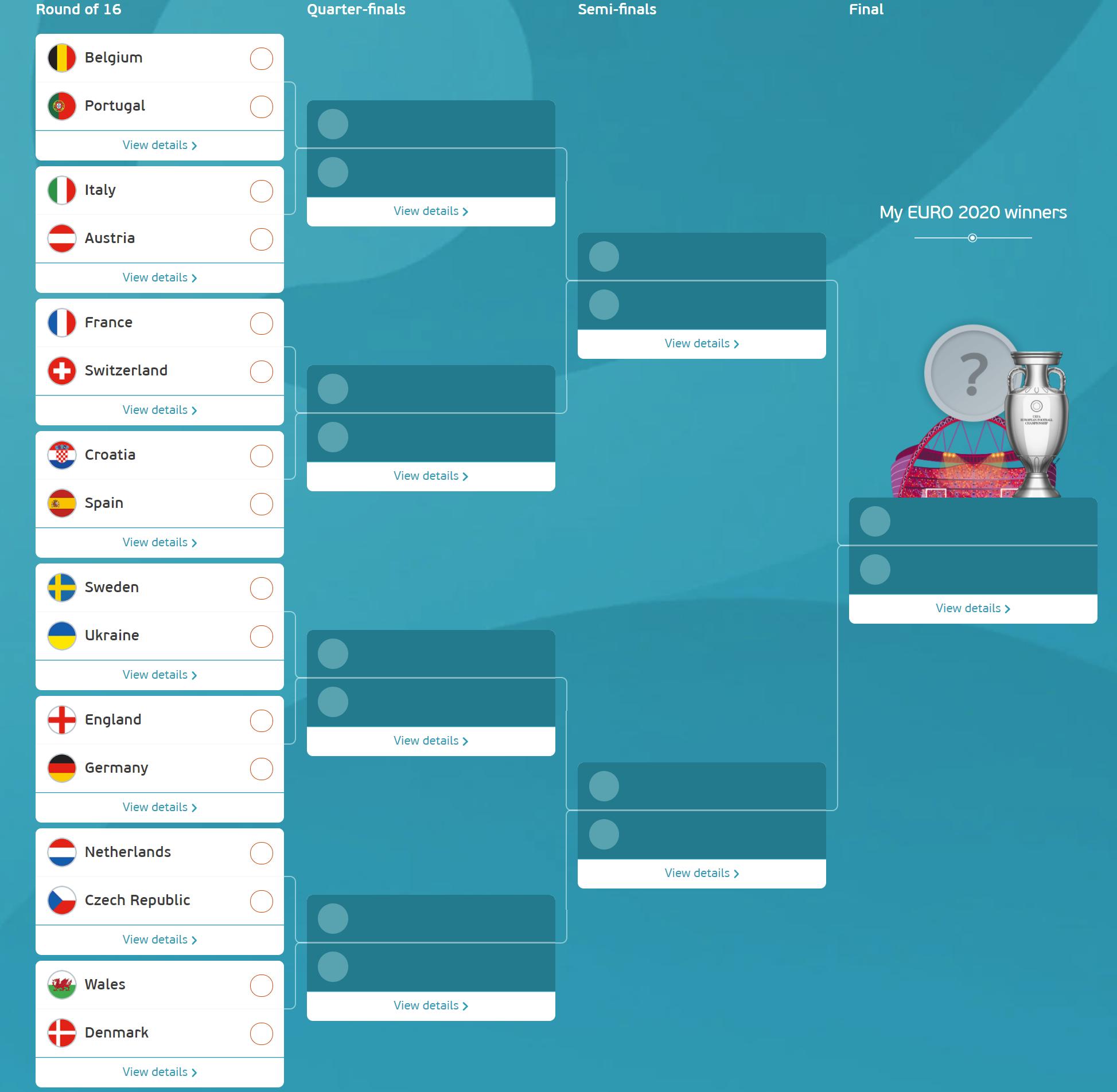 Euro 2020 Predictive Model based on FIFA Ranking System 1